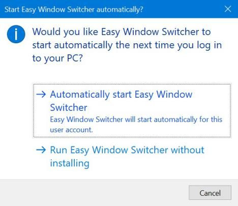 Easy Window Switcher