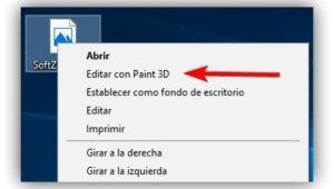 Editar con Paint 3D
