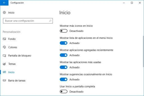 01 personalizar boton Inicio en Windows 10