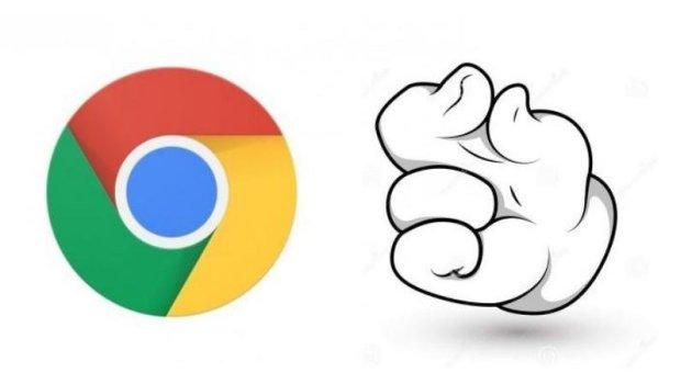 desactivar pellizco en Google Chrome