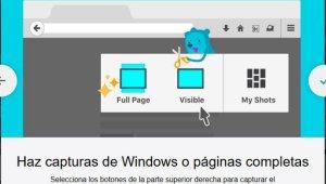 ScreenShot en Firefox