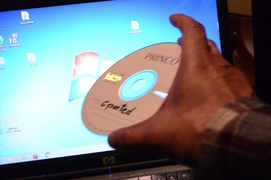 Reparar una microSD con GParted