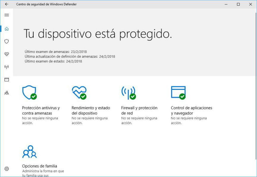 error de descarga con Windows Defender