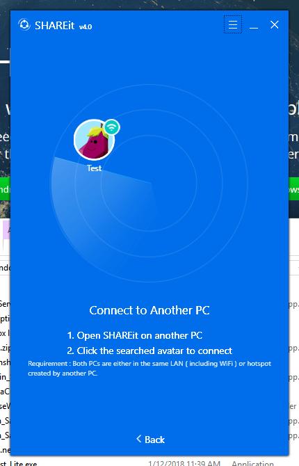 SHAREit conectar 2 PC por Wifi