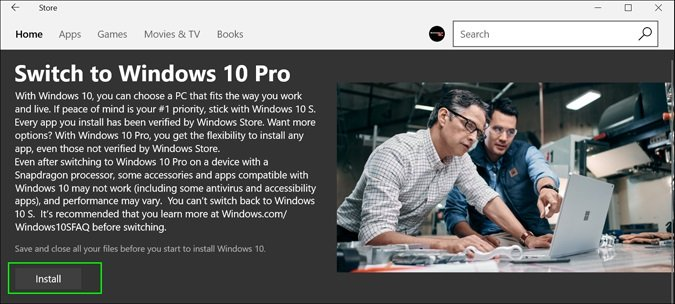 Truco para Actualizar a Windows 10 Pro