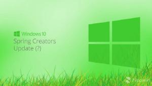 Windows 10 Spring Creators