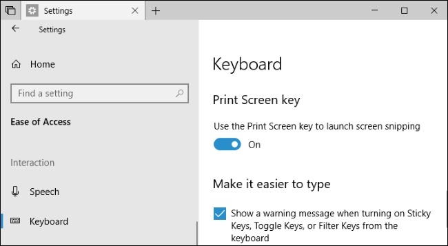 capturar pantallas en Windows 10