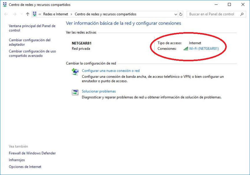 descubrir la clave Wi-Fi en Windows 10