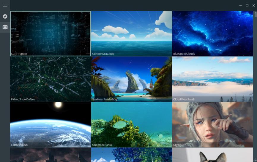 fondos de pantalla animados para Windows 10