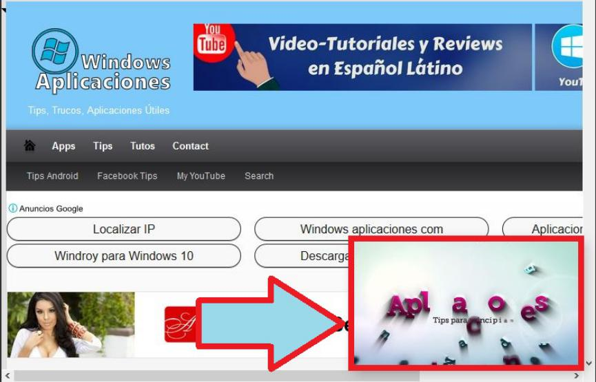 YouTube en ventana Flotante