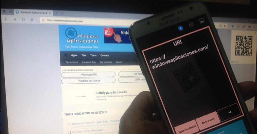 Add-On QR para Edge: Cómo usarlo para Webs del PC en el SmartPhone