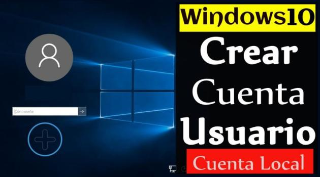Cuenta Local en Windows 10