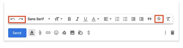 tachar palabaras en gmail
