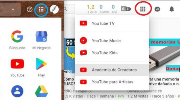 Accesos Directos de YouTube
