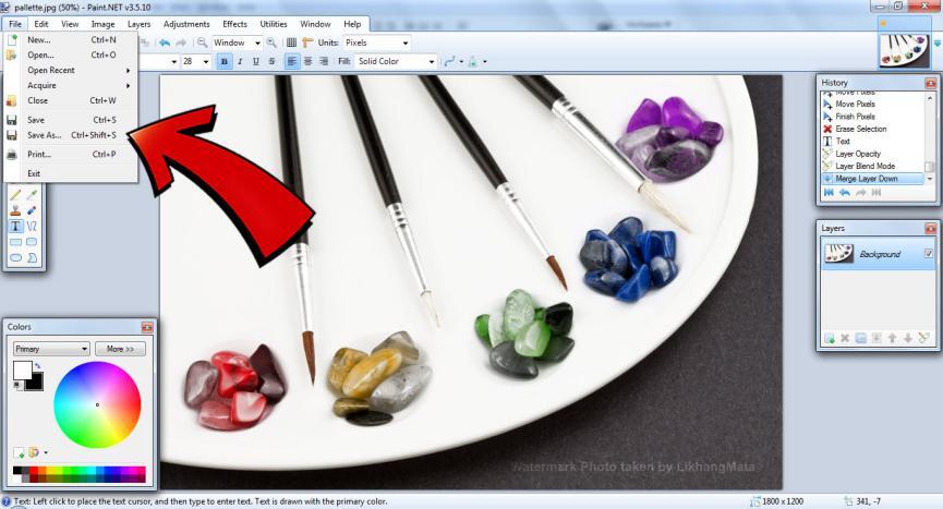 Descargar Gratis Paint.Net para Trabajar mejor que Photoshop