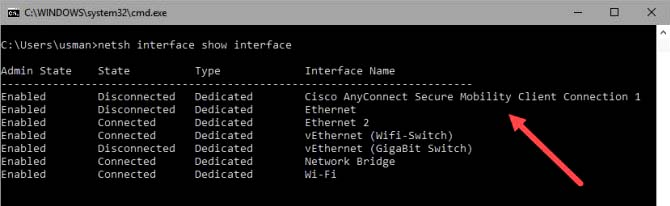 How to Check VPN Connection Status Command Line