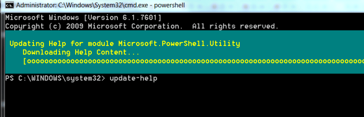 How to Install PowerShell Help Files