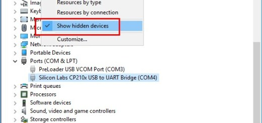 How to View Hidden Devices in Windows 8.1 and 10