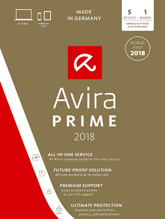 Avira Prime 2019 Free License Key for 3 Months