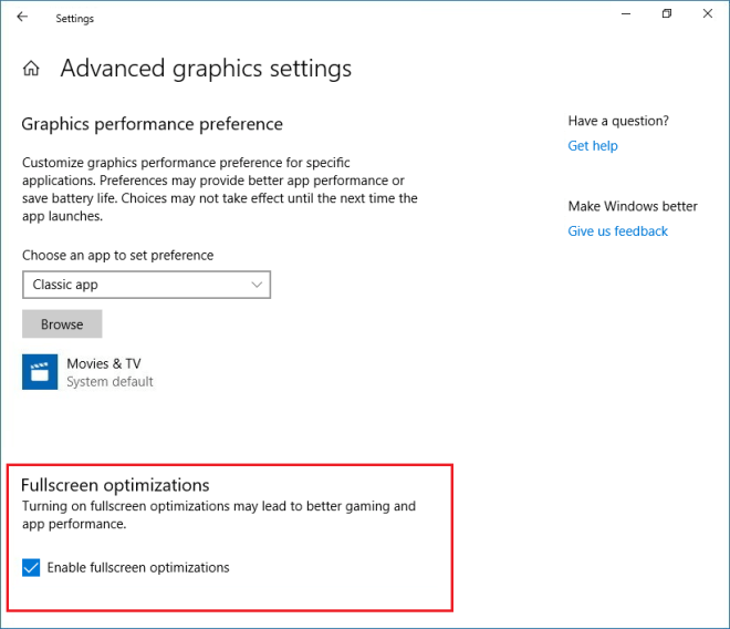 How to Disable Fullscreen Optimizations in Windows 10 - Guideline