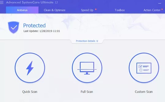 Advanced SystemCare Ultimate 12 Free for 6 Months Key 2019