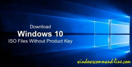 Download Windows 10 Pro ISO File Without Product Key (Official)