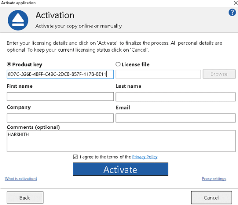 Backup4all License Key