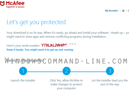 McAfee LiveSafe Activation Code