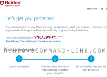 McAfee LiveSafe Activation Code