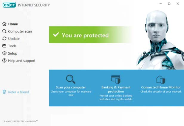 ESET Internet Security 2020 Free Trial for 90 Days [Windows/Mac/Linux]