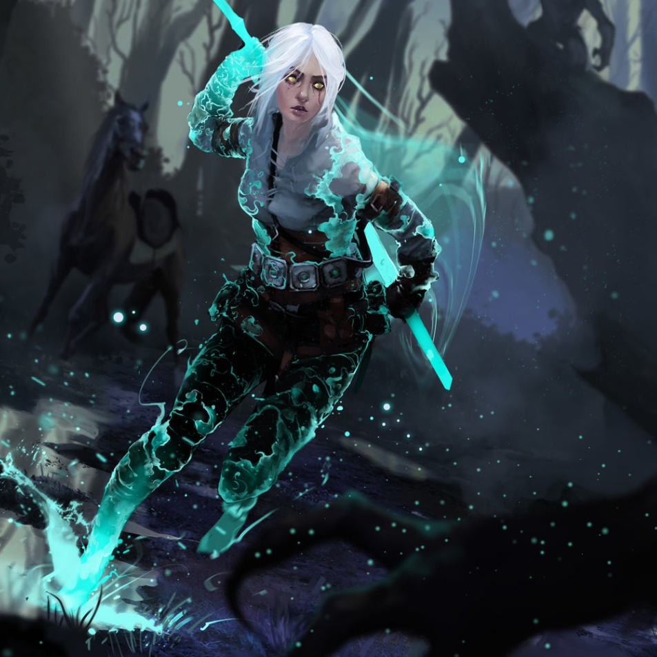 The Witcher 3 Ciri Shape Your Computer Beautifully
