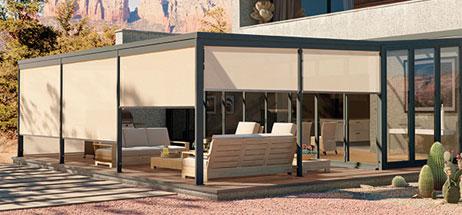 Patio Ideas I Outdoor Curtains I Solar Shades Windows