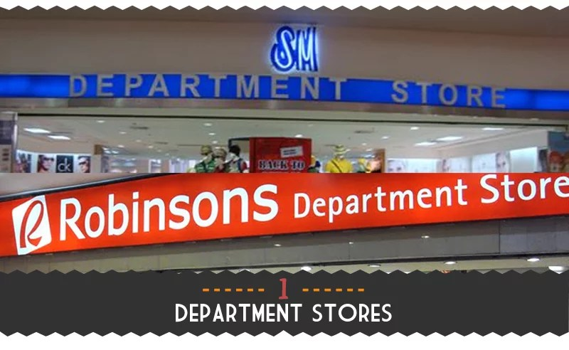1. Department Stores