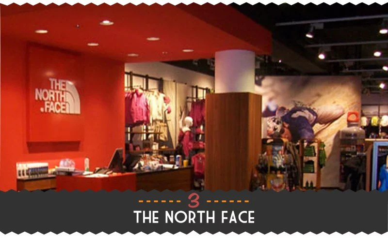 3. The North Face