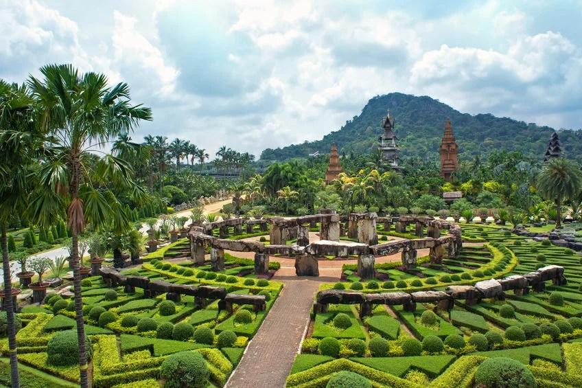 Nong Nooch Tropical Botanical Garden, Thailand marina99123rf