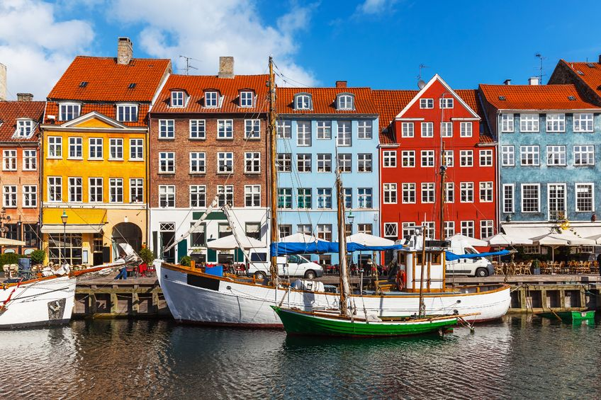 Buildings of Nyhavn.