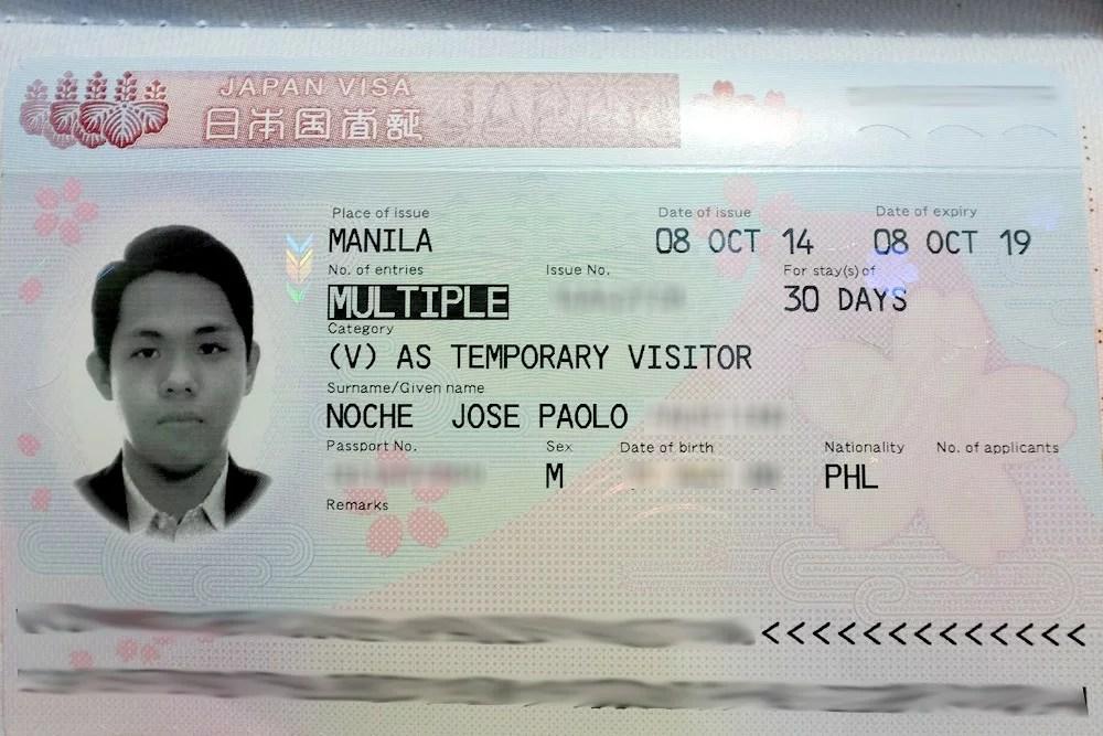 Japan Visiting Visa To Get How 115