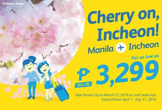 Cebu Pacific Promo March 21 to 25-3
