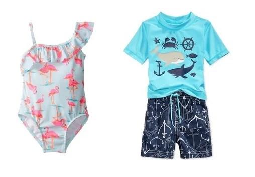 sun-safe swimsuits for kids