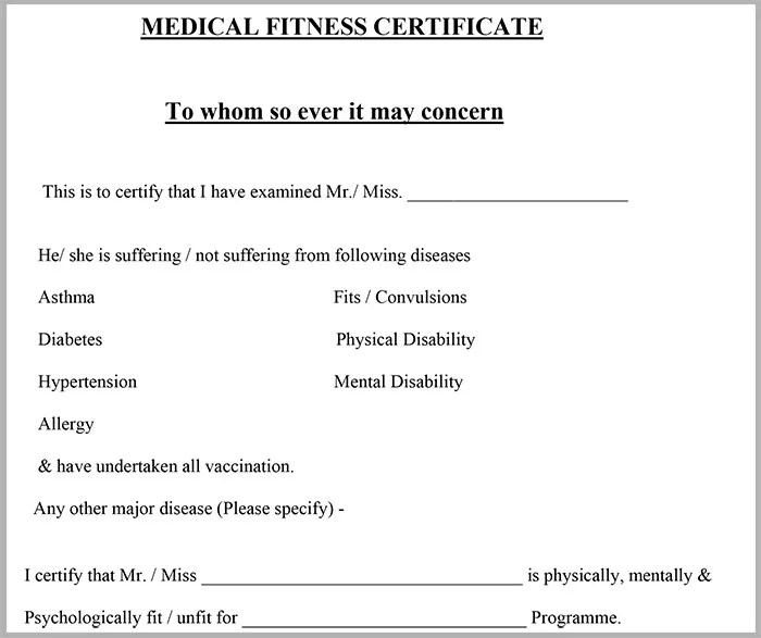Microsoft Word - Medical Certificate Format.docx