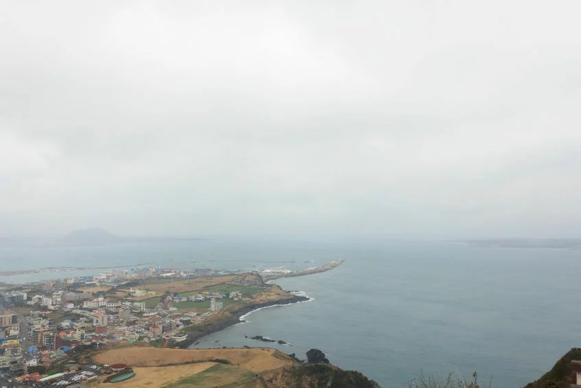 41832633 - winter landscapes in jeju island south korea