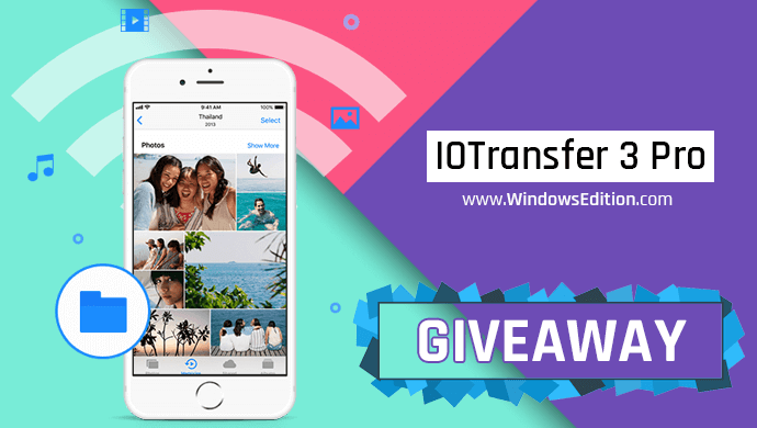 IOTransfer 3 Pro License Key Giveaway
