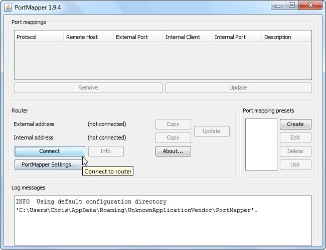 port forwarding software