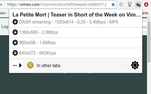 video downloadhelper downloader chrome