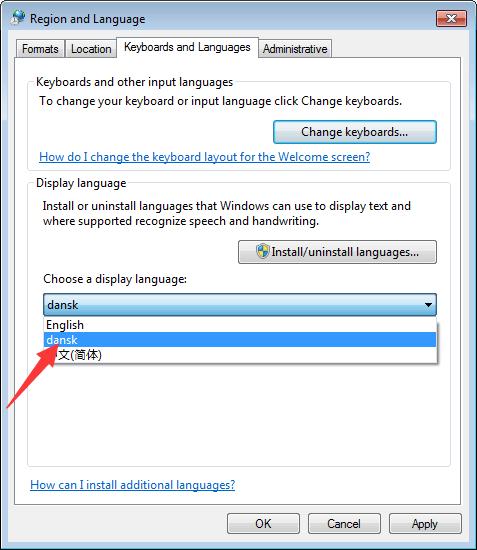 windows 7 language pack