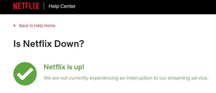 netflix servers are up
