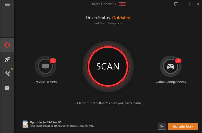 scan driver booster