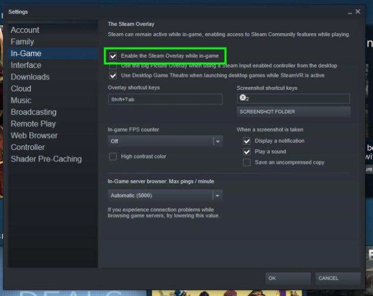 Steam Overlay Not Working [FIXED] – WindowsHelper