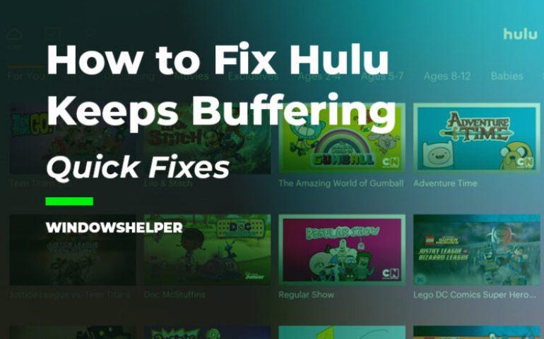 hulu buffering