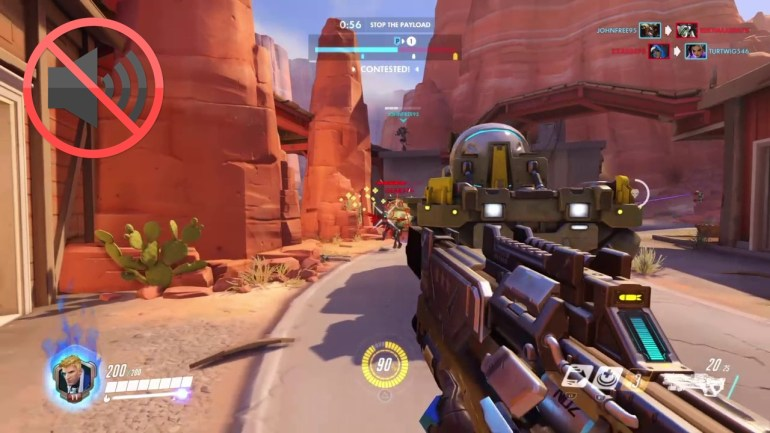 overwatch voice chat not working